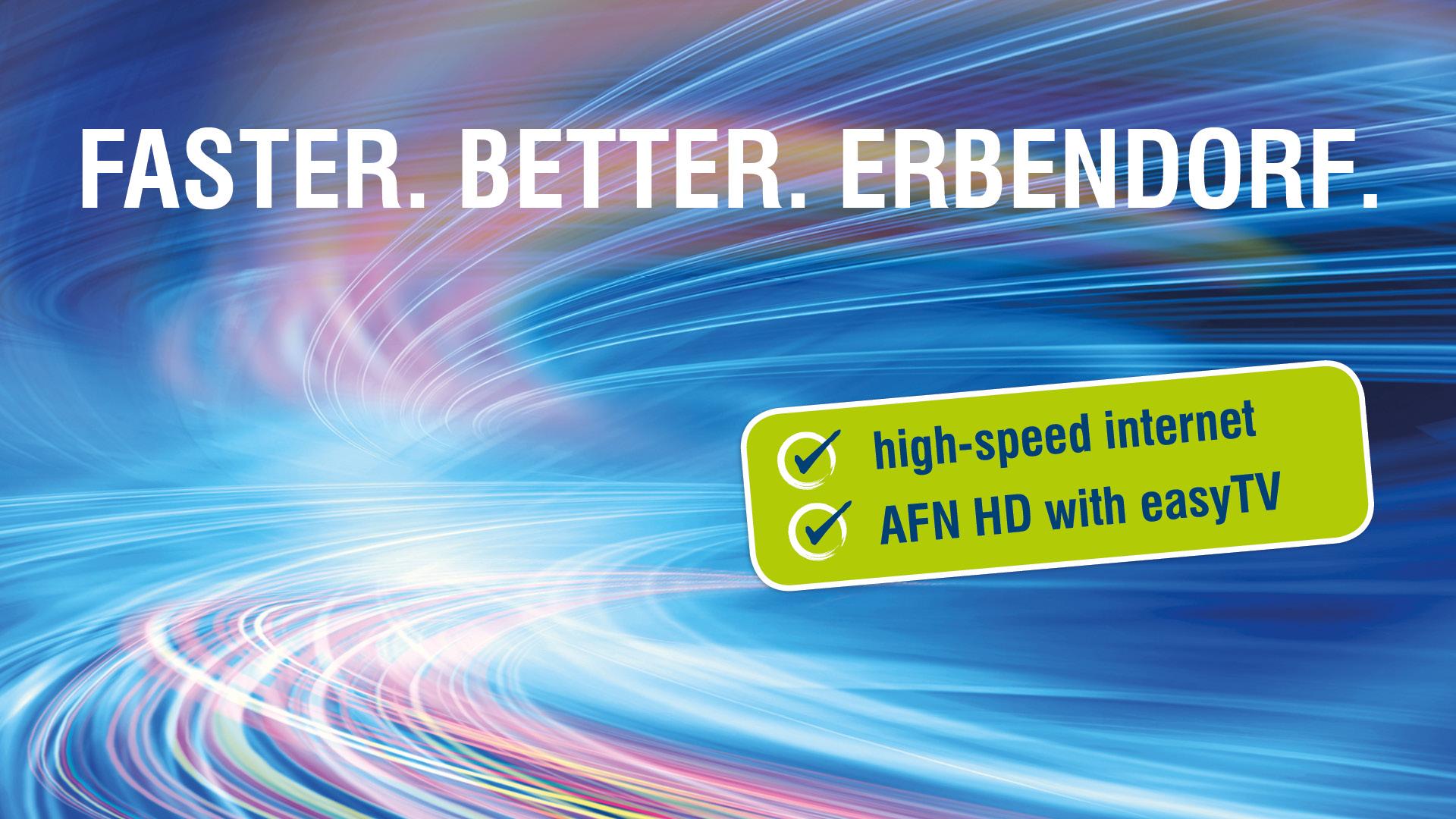 Erbendorf network upgrade